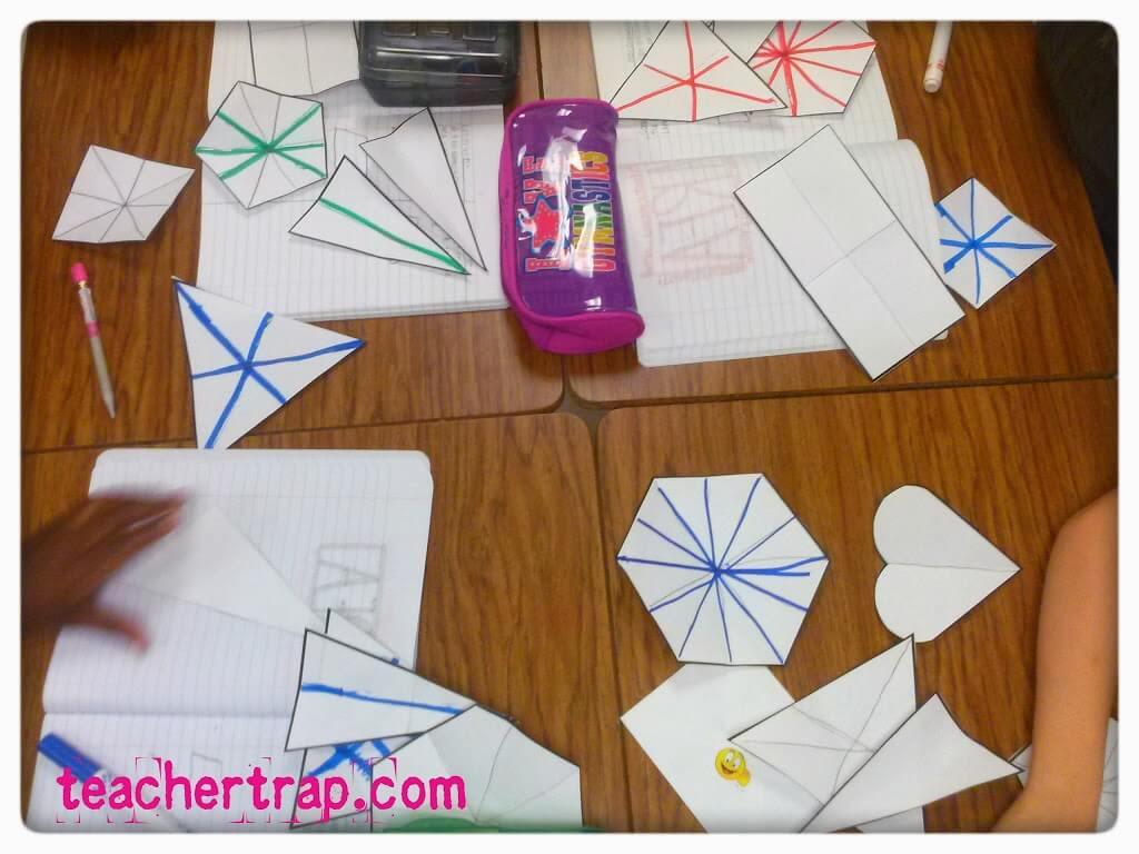 Drawing Lines Of Symmetry Games : Hands on geometry u2013 teacher trap