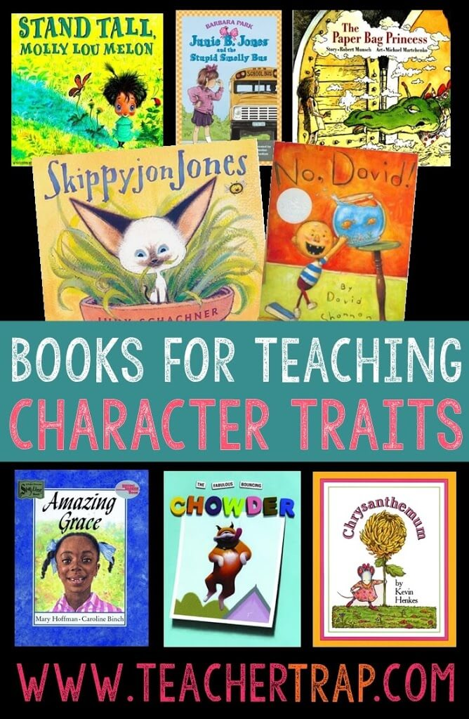 character trait read alouds