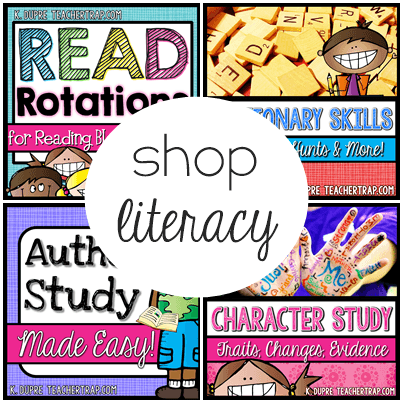 reading writing literacy products