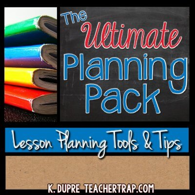 Lesson Planning Pack
