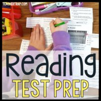 Reading Test Prep Strategies from Teacher Trap